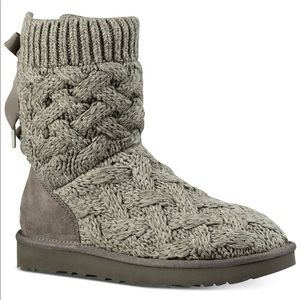 UGG women's Isla boots grey size 9